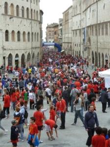 Corso Vannucci in Perugia
