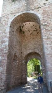 Leaving Assisi
