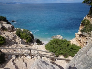 Trail to Cala Goloritzè beach in Sardinia