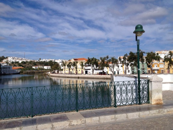Tavira in Southern Portugal
