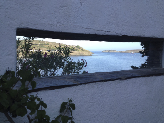 View from Dalí's house