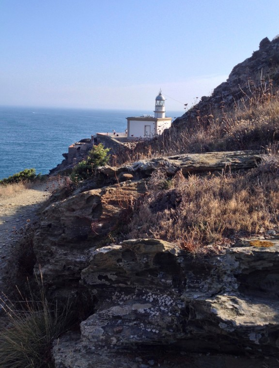 Trail to Cala Nans Lighthouse