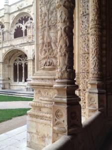Monastery columns