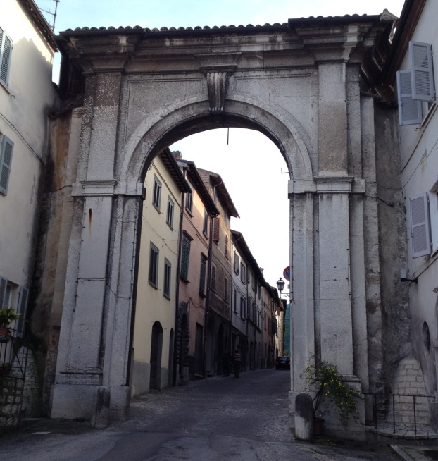 Cagli City Gate