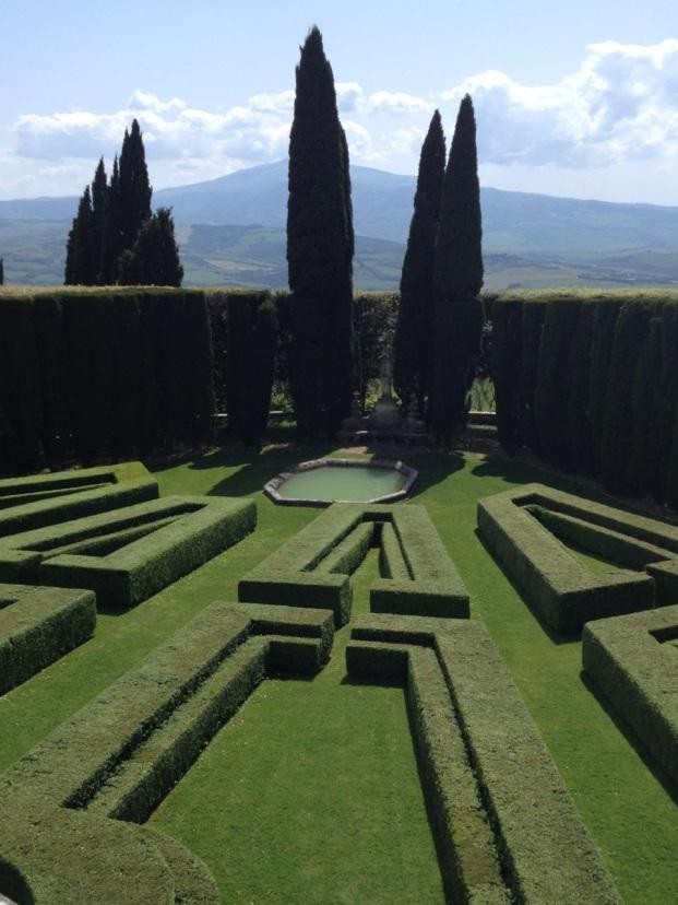 Gardens and Monte Amiata
