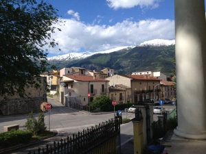 Sulmona & Mountains