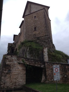 The castle at Frontone