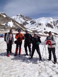 """The true """"alpinisti"""""""