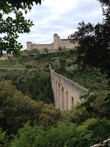 Spoleto Castle & Aqueduct