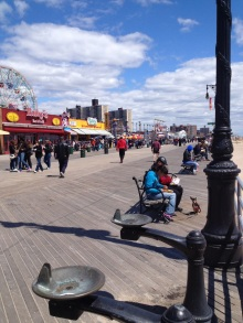 The Boardwalk at Coney Island