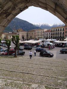 Sulmona Market at Piazza Garibaldi