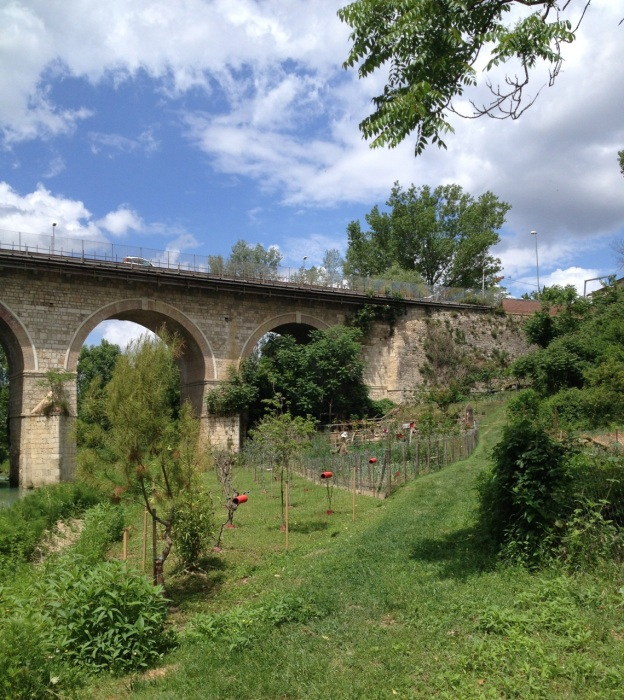 Bridge & start of trail