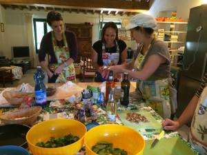 Cooking class with Eva