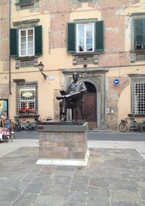 Lucca is Puccini's home town
