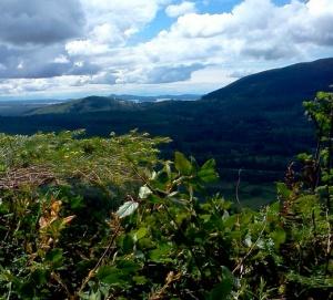 Views from the Chuckanut Range