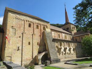 Abbey at Romainmôntier