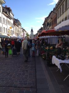 Market Day in Morges
