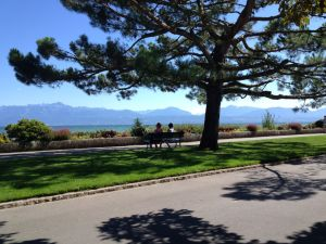 Morges walking path