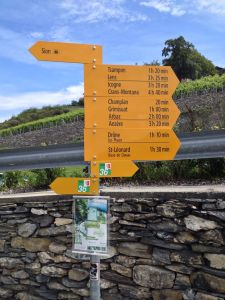 Swiss Signs for hikers & bikers