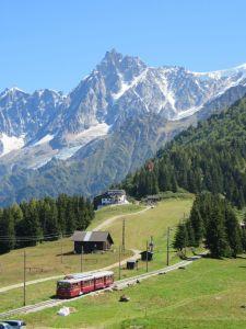 Mont Blanc Tram