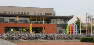 Bikes at the train station