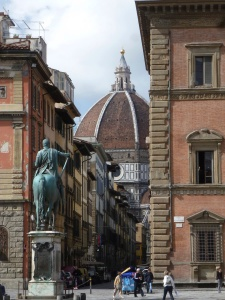A peak at Brunelleschi's Dome