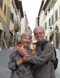 Gelato in Arezzo
