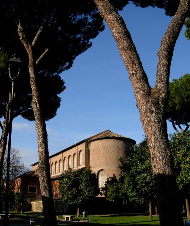 Aventino Hill in Rome