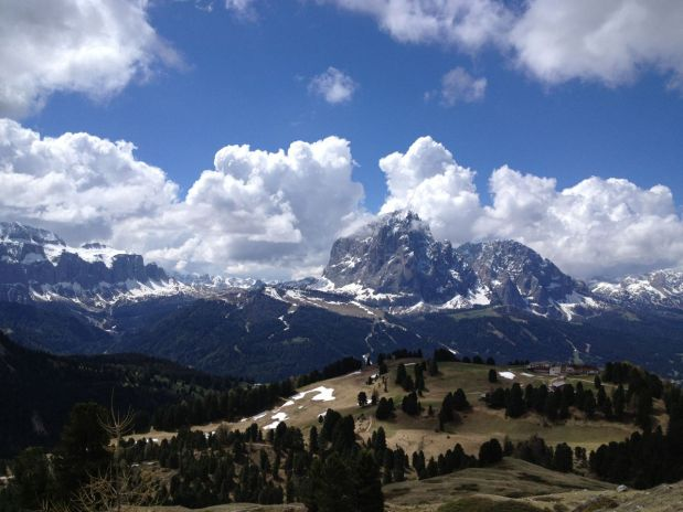 Near Val Gardena-the Dolomites