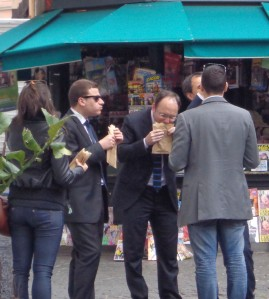 Rome street food