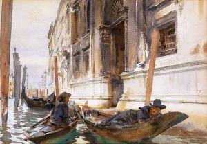 John Singer Sargent in Venice