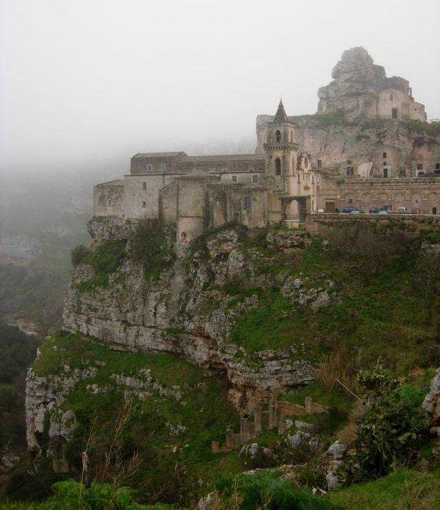 The Sassi near Matera
