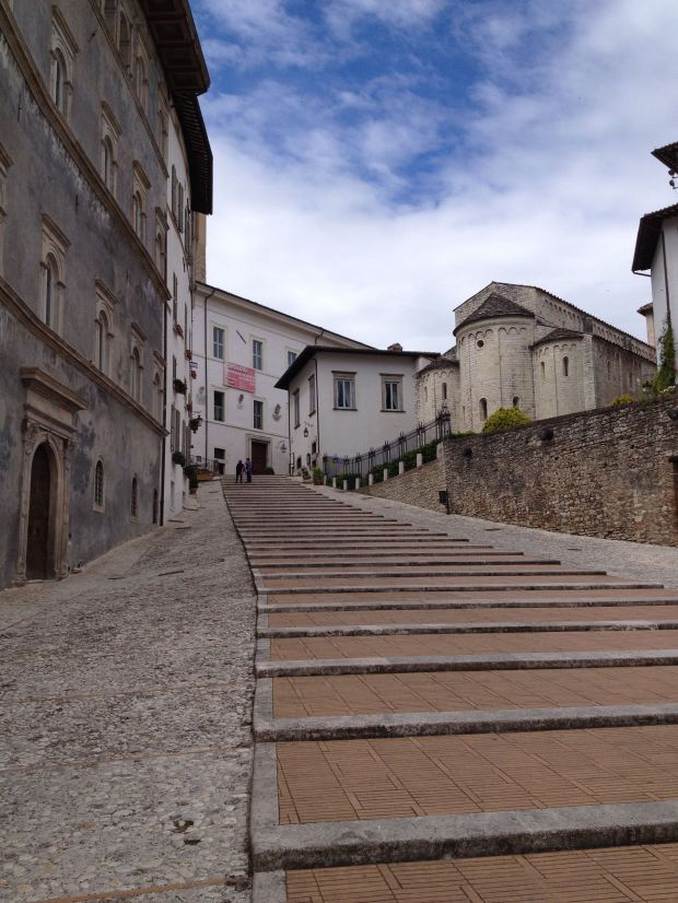 Stairs in Spoleto
