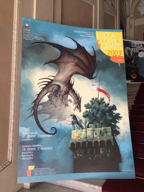 Lucca Comicon Poster