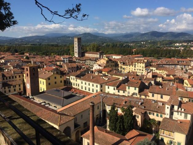 Tower View of Lucca