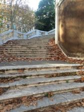 Steps to Quirinal Park