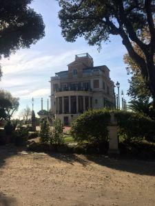 Villa Medici at Pincio Park